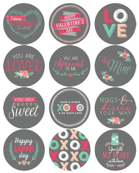 printable valentine tags pinterest free printable valentines day labels printable labels