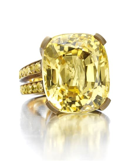yellow sapphire engagement ring meaning engagement ring usa
