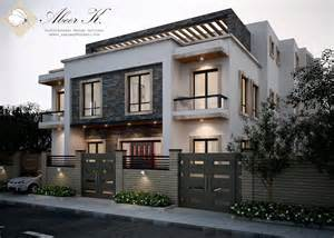 exterior of houses new cairo s villa exterior by kasrawy on deviantart