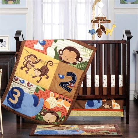 Baby Bedding Sets Burlington Coat Factory Jungle 1 2 3 Collection Baby Shower Ideas