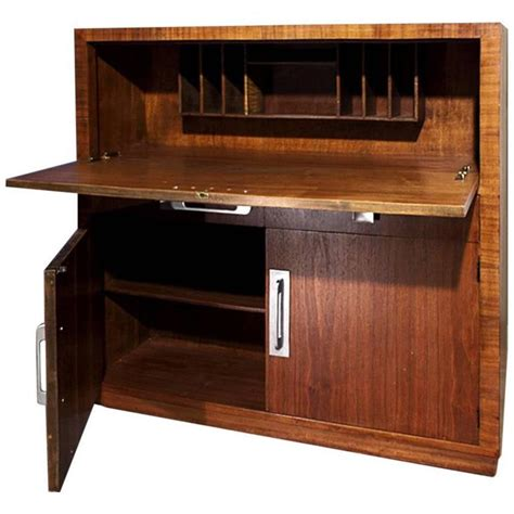 modern age deco drop desk or circa