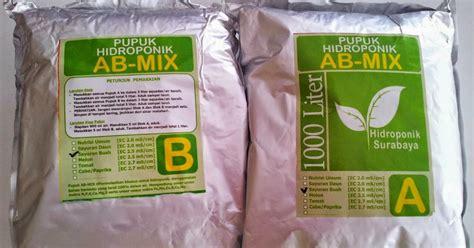 Pupuk Ab Mix Alami cara memilih pupuk ab mix sesuai kebutuhan hidrafarm