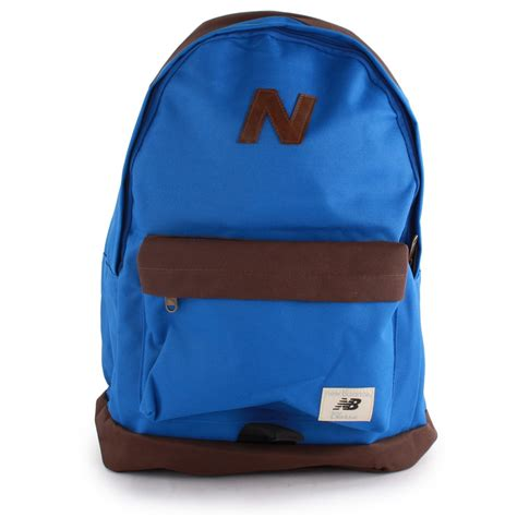 Backpack New Balance Blue new balance mellow backpack textile in bags blue