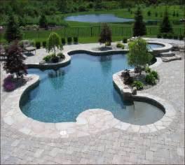 inground swiming pool design designs home design ideas
