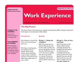 layout for work experience diary schools teaching resources support resources free and