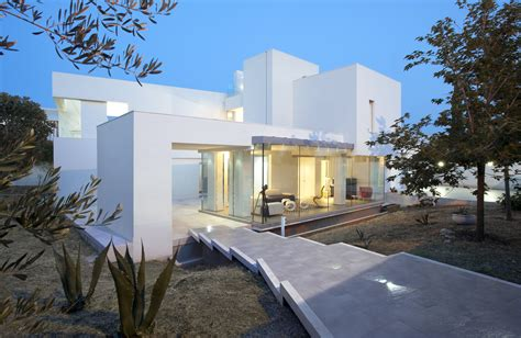 modern architecture houses mediterranean luxury comes in white villa di gioia by