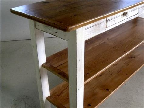 barn wood kitchen island ecustomfinishes shelved barn wood kitchen island work station