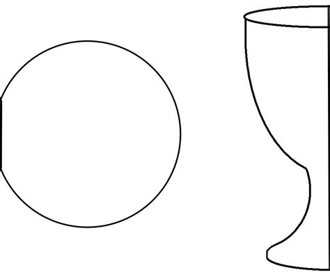 free printable communion banner templates communion chalice clipart 59