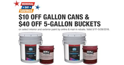 home depot 5 gallon interior paint 5 gallon exterior paint sale home depot paint sale