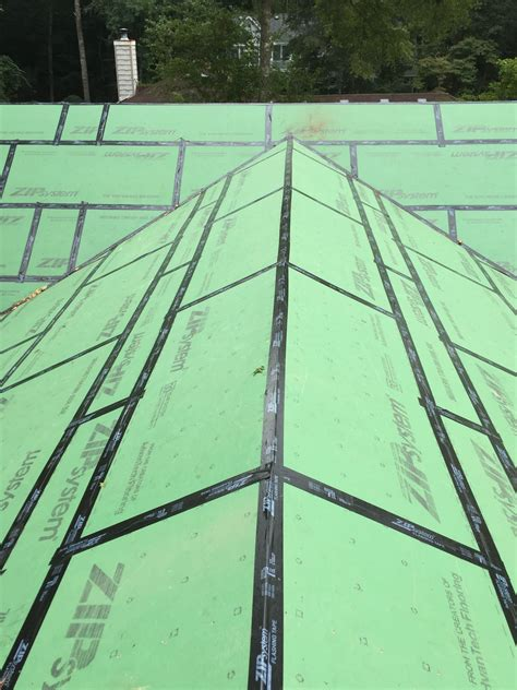 Zip System Roof Installation - builders construction builders obx