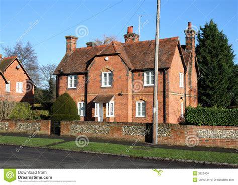 casas en inglaterra casas inglesas de la aldea foto de archivo imagen 3926400
