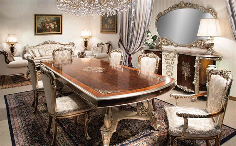 italian dining room tables high end italian furniture dining room set