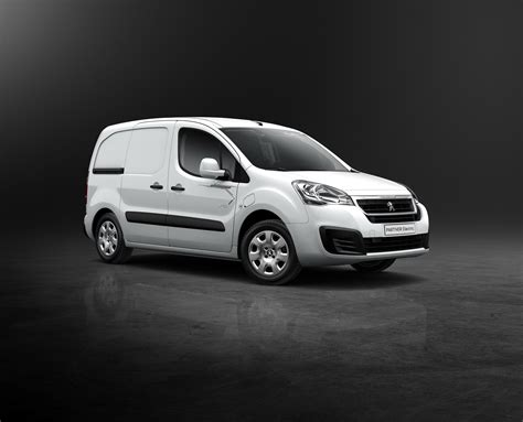 peugeot partner van peugeot partner series facelifted for geneva w videos