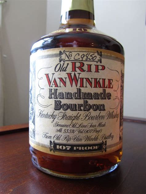 Rip Winkle Handmade Bourbon - rip winkle handmade bourbon