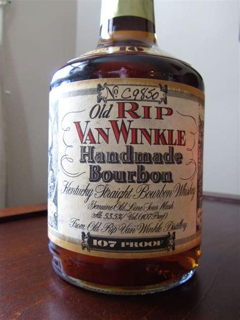 Handcrafted Bourbon - rip winkle handmade bourbon