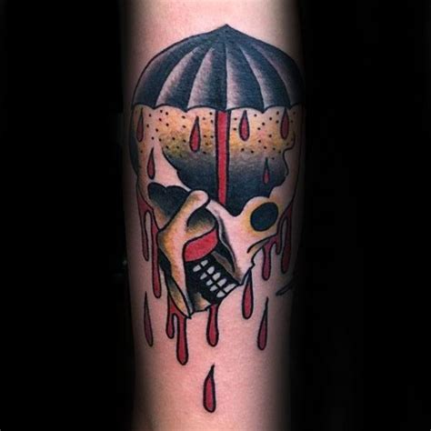 traditional umbrella tattoo 60 umbrella designs for protective ink ideas