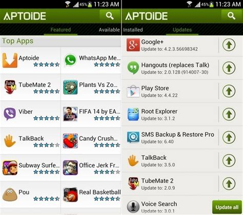 aptoide on downloader how to install aptoide