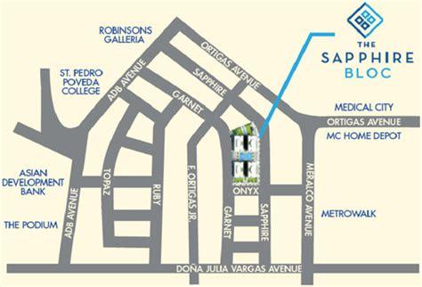 Commercial Building Plans The Sapphire Bloc Ortigas Center