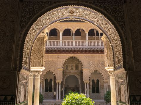 moorish architecture reales alc 225 zares de sevilla royal palace sevilla spain