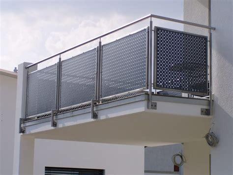 Edelstahl Balkon by Lochblech Edelstahl Balkon Metallteile Verbinden
