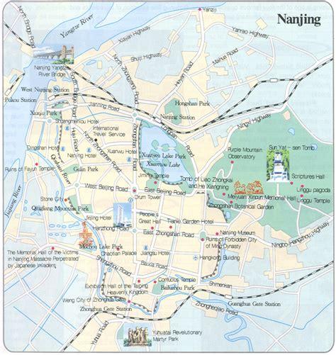 Nanjing Maps, Maps of Nanjing in China