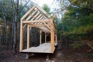 Minimal mansion timber frame tiny house tiny house design