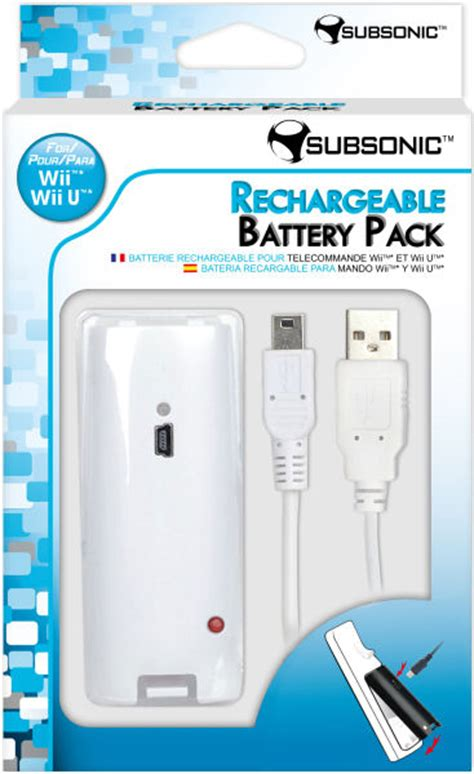 Wii And Recharging by Nintendo Wii U Rechargeable Battery Pack White Wii U