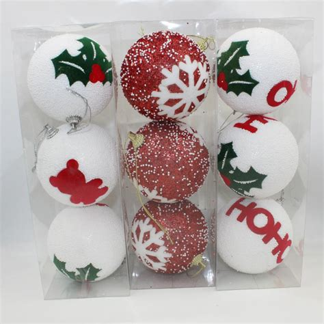new 8cm christmas foam ball christmas tree ornaments
