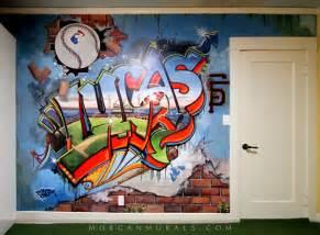 baseball wall mural baseball wall mural of sf giants ballpark in graffiti