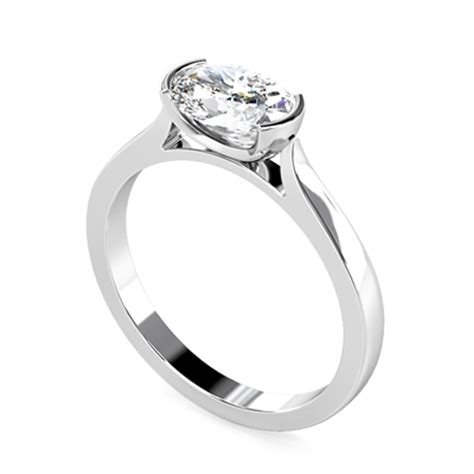 unique oval engagement ring dhmtss929