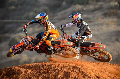 Ktm Supercross Team Follow
