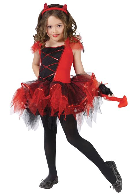 revealing little girl halloween costumes child devilina costume