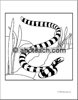 sea snake coloring page clip art sea snake coloring page abcteach