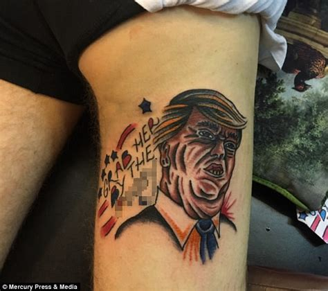 tattoo of us bum chef gets donald trump grab her by the p y tattoo