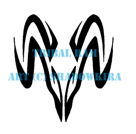 tribal aries tattoos designs aries images designs
