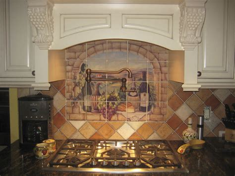 ceramic tile murals for kitchen backsplash 32 kitchen backsplash ideas remodeling expense