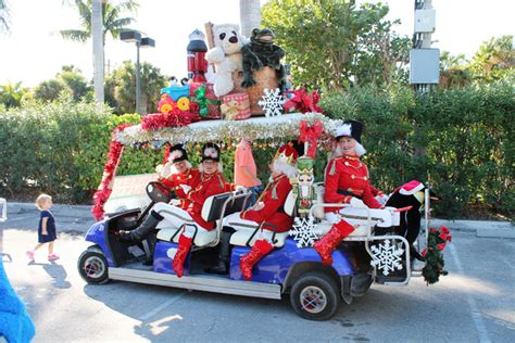 golf carts decerated for christnas captiva s decorated golf cart parade winners announced