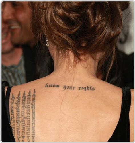 angelina jolie chest tattoo 301 moved permanently