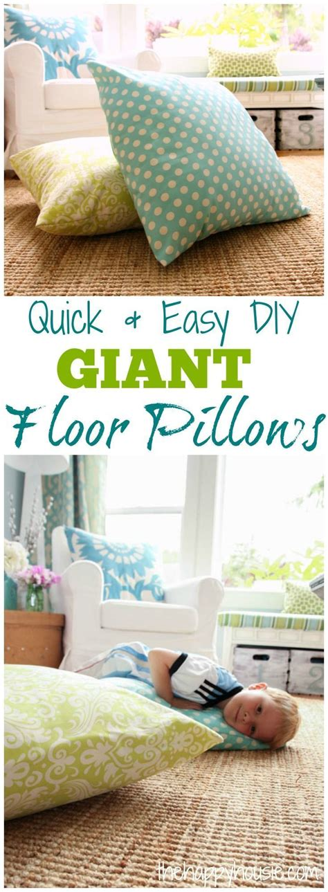 diy floor pillows diy floor pillows tutorials king kong and kid