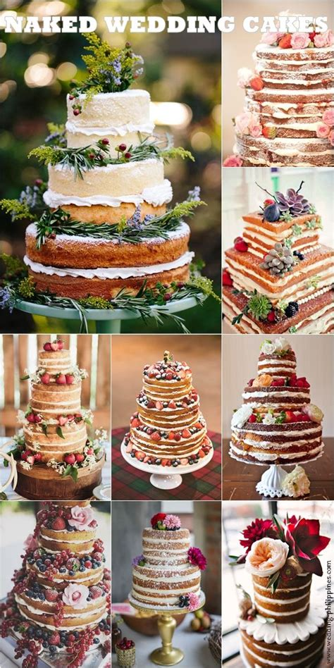 Wedding Cake No Icing by No Icing Wedding Cakes Stuff Bolos De