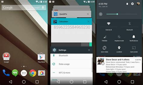 android l android l even as a developer preview is magnificent on extremetech