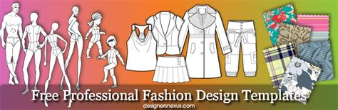 free fashion templates fashion designer information
