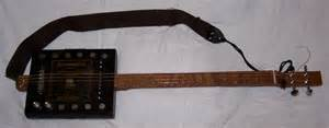 Anyway today my 4 string through neck cigar box guitar i call this