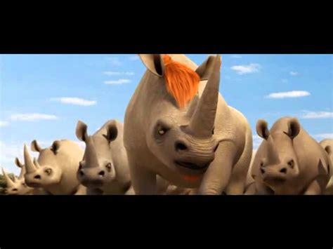 animals united billy sfida  bufali   rinoceronti youtube