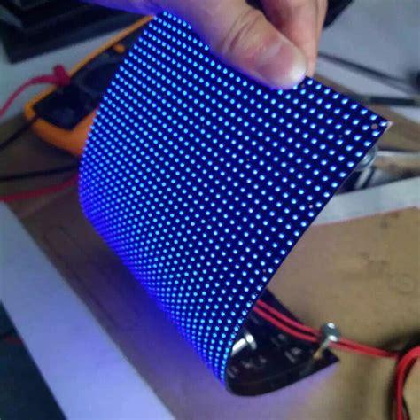 Led Circle Light by P5mm Flexible Led Display Panel P5mm Soft Led Module