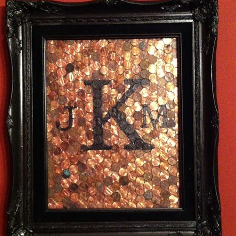7th wedding anniversary ideas 7th wedding anniversary frames and pennies on