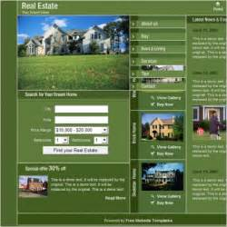 real homes template real estate template free website templates in css html