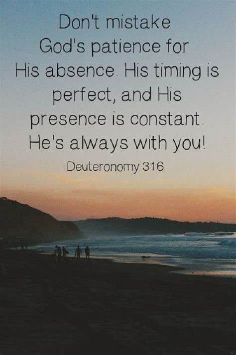 Scripture Memes - don t mistake god s patience for his absence in the