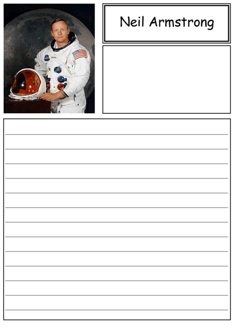 neil armstrong biography worksheet neil armstrong coloring page homeschool astronomy