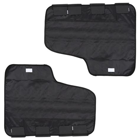 seat protector for dogs pet seat cover door protector for dogs set of 2